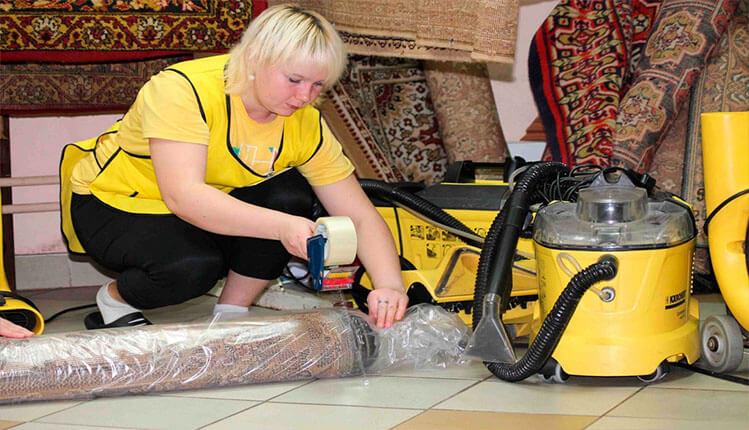Химчистка (чистка) ковров с вывозом