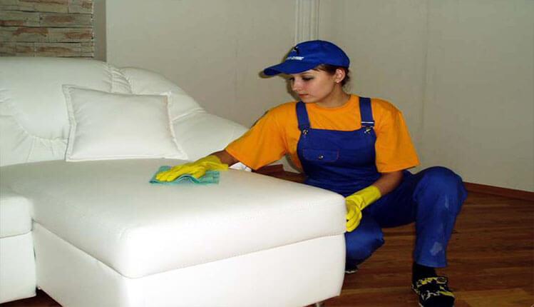 Химчистка (чистка) кожаной мебели