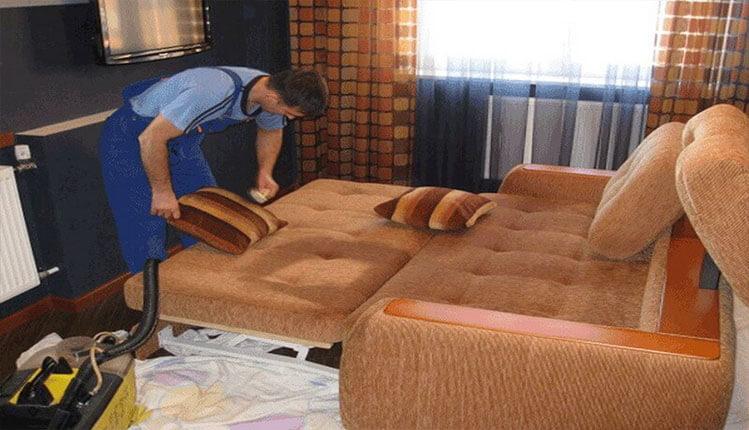Химчистка (чистка) мягкой мебели