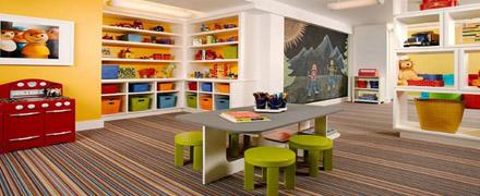 Химчистка ковролина в детских игровых комнатах